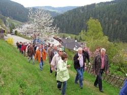 Der Männergesangverein Rauschendorf in Tennenbronn