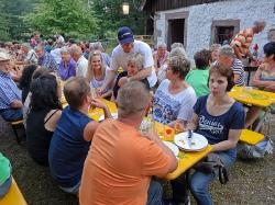 Grillfest an der Mühle