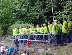 Mühlenabend 2014 MGV und Just Singing