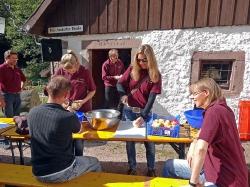 Zwiebelkuchenfest Leute 2014