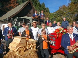 Oldtimer Bilder Mühle Herbst 2016