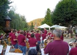 Harmonie spielt im Löwen Biergarten_1