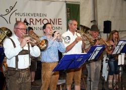 Sommerfest samstagabend mit LauterBlech_5