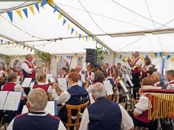 Harmonie auf dem Stadtfest in Vöhrenbach_1
