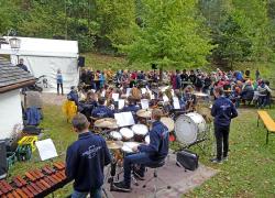 Jugendorchester beim Zwiebelkuchenfest_14