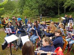 Jugendorchester beim Zwiebelkuchenfest_2