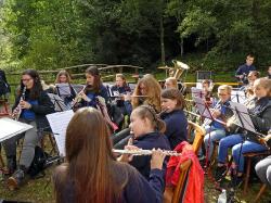 Jugendorchester beim Zwiebelkuchenfest_8